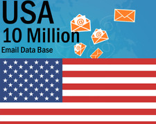 New 10 Million USA email List for Marketing & Business - USA Targeted Email List