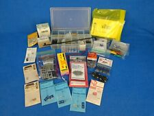 LOT New & Used Model Train Detail Parts Nails Switch Boxes Couplers HO Scale