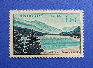 1961 ANDORRA FRENCH 1Fr SCOTT# 153 MICHEL # 174 UNUSED                   CS28214