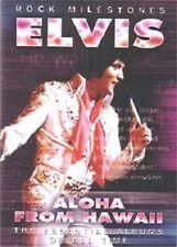 As New! Elvis Aloha From Hawaii Rock Milestones  DVD