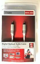 Belkin ProAV Digital Optical Audio Cable AV20002-06 Audio Cable BRAND NEW