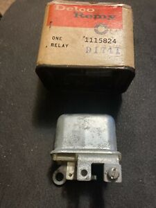GM HORN Relay 1115824 Chevy GMC Corvette Corvair Tempest 1963-65