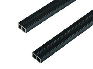 Composite Joist Hollow black 4m length - for decking or cladding 50mm x 30mm DIY
