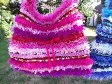 LUNiQUE handmade crochet embellished bag Pinks 🌺🌼🌻