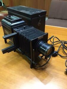Slide projector Balopticon Bausch & Lomb antique Free/Ship!!