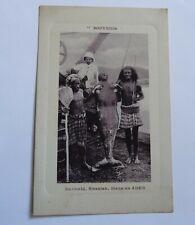 Early Postcard Souvenir of Mermaid , Sivenian, Manalus Aden