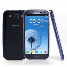 "Libre Telefono Movil 4.8"" Samsung Galaxy SⅢ I9300 16GB 8MP GPRS 3G Radio - Azul"