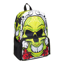 Green Skull Art Weekender Bag