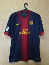 FC BARCELONA SPAIN 2012/2013 HOME FOOTBALL SHIRT JERSEY CAMISETA MAGLIA NIKE