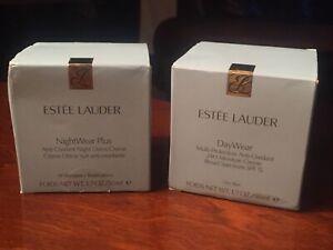 Estee Lauder DayWear 1.7oz And NightWear Plus 1.7oz Anti-Oxidant Creme Open Box