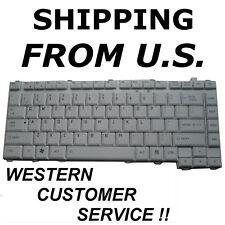NEW US English Toshiba Equium A200 Qosmio G45 G40 Series Gray-White no-pointer
