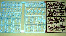Eagle Games Civil War Union Cavalry Artillery +  Infantry 1/72  Blue Plastic