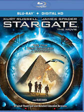 New! Stargate 20th Anniversary Blu-ray + Digital HD - Theatrical & Extended ver