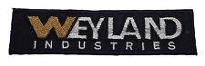 Aliens vs Predator Movie Weyland Industries Embroidered Logo Patch