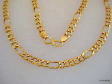 Traditional design 20kt gold chain necklace handmade gold chain