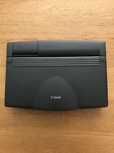 Canon BJ-30 Portable Printer Working