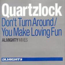 Quartzlock Don't Turn Around / You Make Loving Fun Almighty Mixes MUSIC AUDIO CD