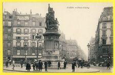 cpa 75 - PARIS Place CLICHY vers 1910 Atelier photo à Louer Cours d'Anglais