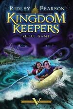 Kingdom Keepers:Shell Game Bk. 5 by Ridley Pearson Pre-Teen Fantasy New HC (A10)