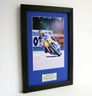 Barry Sheene MBE ? Framed special edition presentation