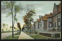 Lake Shore Drive, Sheridan Road Chicago, Illinois Lot of Two Vintage Postcards