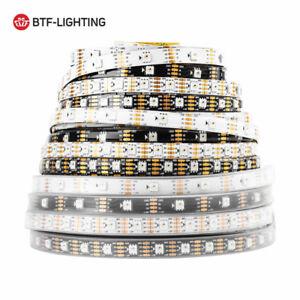5m WS2815 RGB Pixels LED Strip Light Dual Signal Individual Addressable DC12V