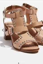 989b044bbe TopShop Women's 100% Leather Sandals and Beach Shoes for sale | eBay
