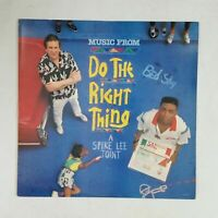 DO THE RIGHT THING Soundtrack MOT6272 Herbie Jr LP Vinyl VG++ Cover VG++