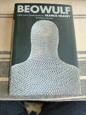BEOWULF A New Verse Translation by Seamus Heaney,  Book/DJ FINE -w/ Old English
