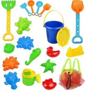Click N' Play CNP30312 Beach Sand Toy Set, 18 Piece