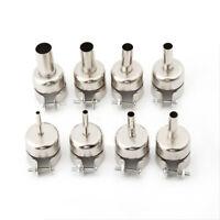 8 X Heat Gun Nozzles Hot Air Gun Heat Resisting Nozzles Tips 3/4/5/6/7/8/10/12mm