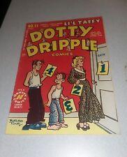 DOTTY DRIPPLE COMICS #11 harvey 1950 BUFORD TUNE NEWSPAPER ART Fn golden age