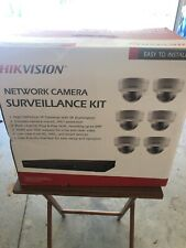 hikvision security camera system poe