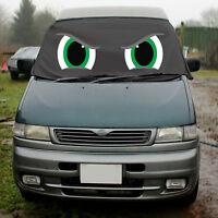 Mazda Bongo Window Screen Cover Black Blind Camper Van Frost Green Angry Eye