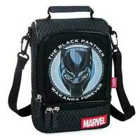 NWT Disney Store Black Panther Lunch Box Tote Bag School Avenger
