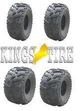 2x 25x8-12 + 25x10-12 v1503 KINGSTIRE 25x8.00-12 M + S ATV quadbuggy terreno PNEUMATICI