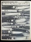 Switchblade Knife Book - The Automatic Resource Guide And Newsletter Vintage
