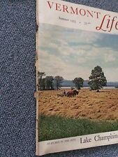VERMONT LIFE Magazine Summer 1955 Vermont History Rare