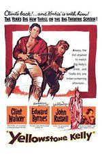 Yellowstone Kelly DVD Clint Walker Edward Byrnes