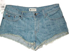 ROXY Jeans  cut off blue denim Jeans shorts  size 28