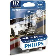 1x H7 Racing Vision lamp CAR 12V 55W PX26d 12972RVB1 PHILIPS