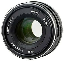 Meike Lens 35mm F1.7 for Fujifim X-Mount Multicoated - P
