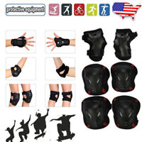 Skateboard Accessories with Helmet-Adjustable Strap-for Youth,Adults Women-7 in 1 Protective Gear Set(Helmet Knee pad Elbow pad Wrist Guard-for Skating,Rollerblade,Multi Sports Scooter