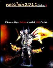 Diablo 3 - Nintendo Switch - Dämonenjäger - 150 Portale 100% Perfekt - MODDED