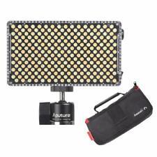Aputure AL-F7 H198 Upgrade Ver 256 LED Bi-Color Dimmable Led Video Light CRI95+