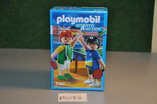 PLM4 MISB playmobil mint in sealed box sports and action set 5197 table tennis