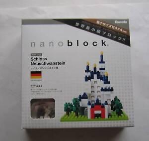 Kawada Nanoblock Schloss Neuschwanstein - japan building toy block NBH_010 New