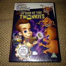 Nickelodeon The Adventures JIMMY NEUTRON Boy Genius ATTACK OF THE TWONKEYS DVD
