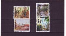 BERMUDA - SG630-633 MNH 1991 BERMUDA PAINTINGS 3rd SERIES