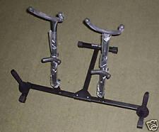 QUIKLOK Stand per 2 SAX Alto,Tenore + 2 Supporti Flauto,Clarinetto